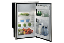 Stainless steel refrigerators-freezers C115IXD4-F (internal cooling unit) 12/24V - 115/230VAC